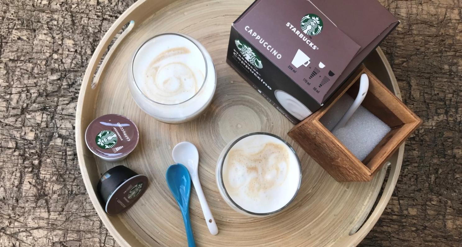 Starbucks at home lifestyle
